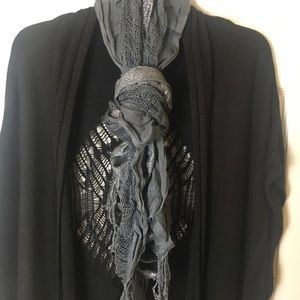 Charlotte Russe scarf (Gray)
